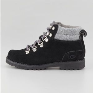 UGG barelo suede lace up boot